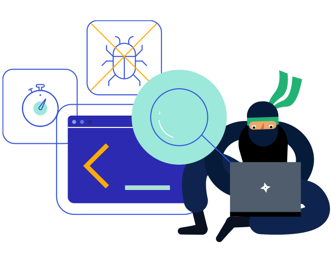 Telerik ninja using various testing methodologies