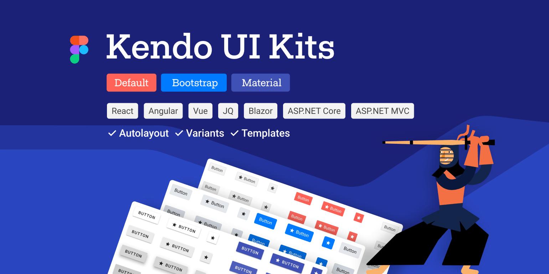 Telerik and Kendo UI Kits for Figma