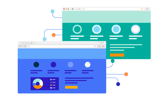 Illustrated cross browser testing