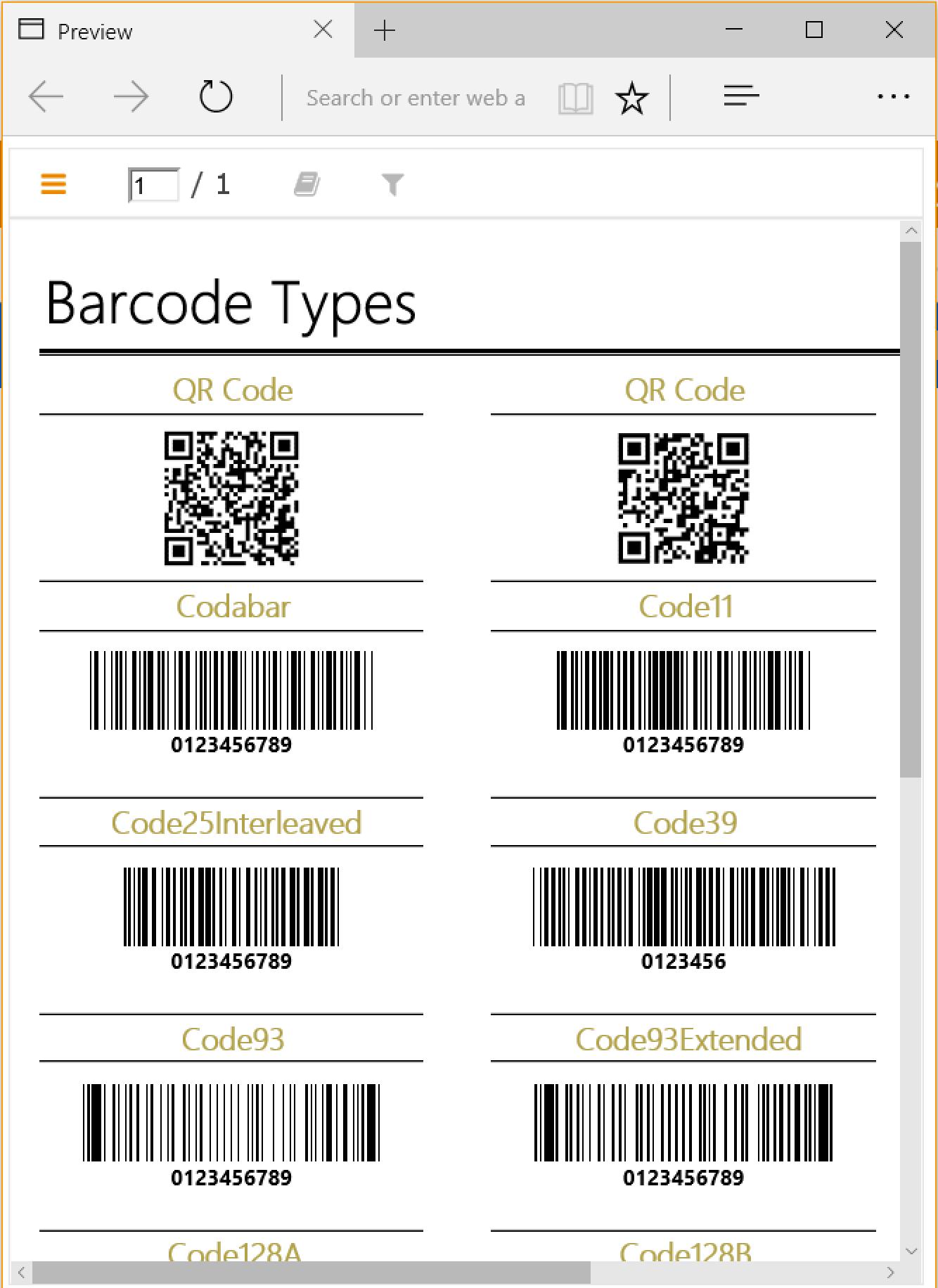 BarcodeReportMobile