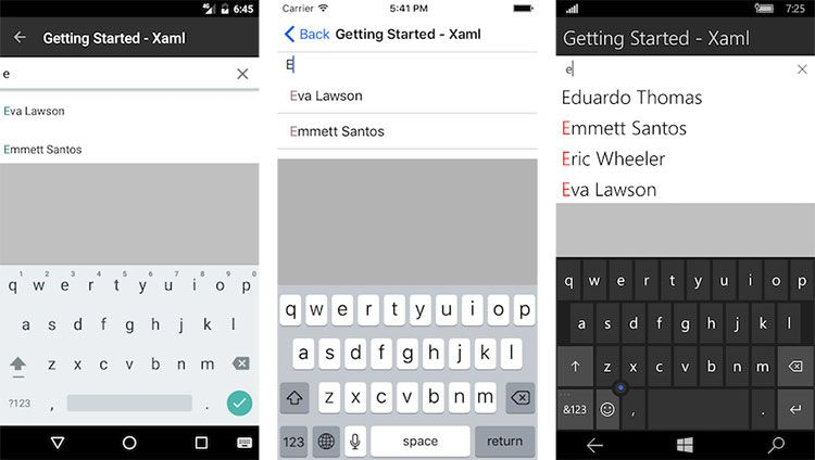 UI for Xamarin Deep Dive: Typing Efficiency with AutoComplete