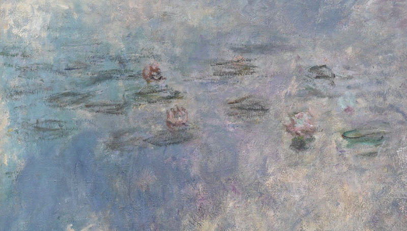 Monet's brushwork