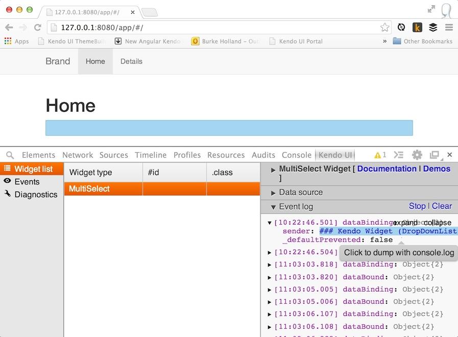 Say Hello To The Kendo UI Chrome Inspector - Telerik Blogs