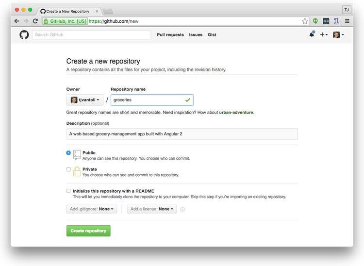 Quick Angular Hosting with the Angular CLI and GitHub Pages