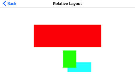 iOS Relative Layout Landscape