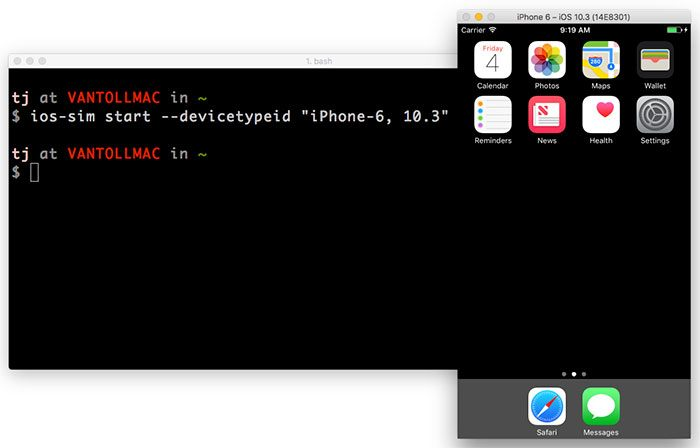 How to Launch Android Emulators and iOS Simulators From the Command