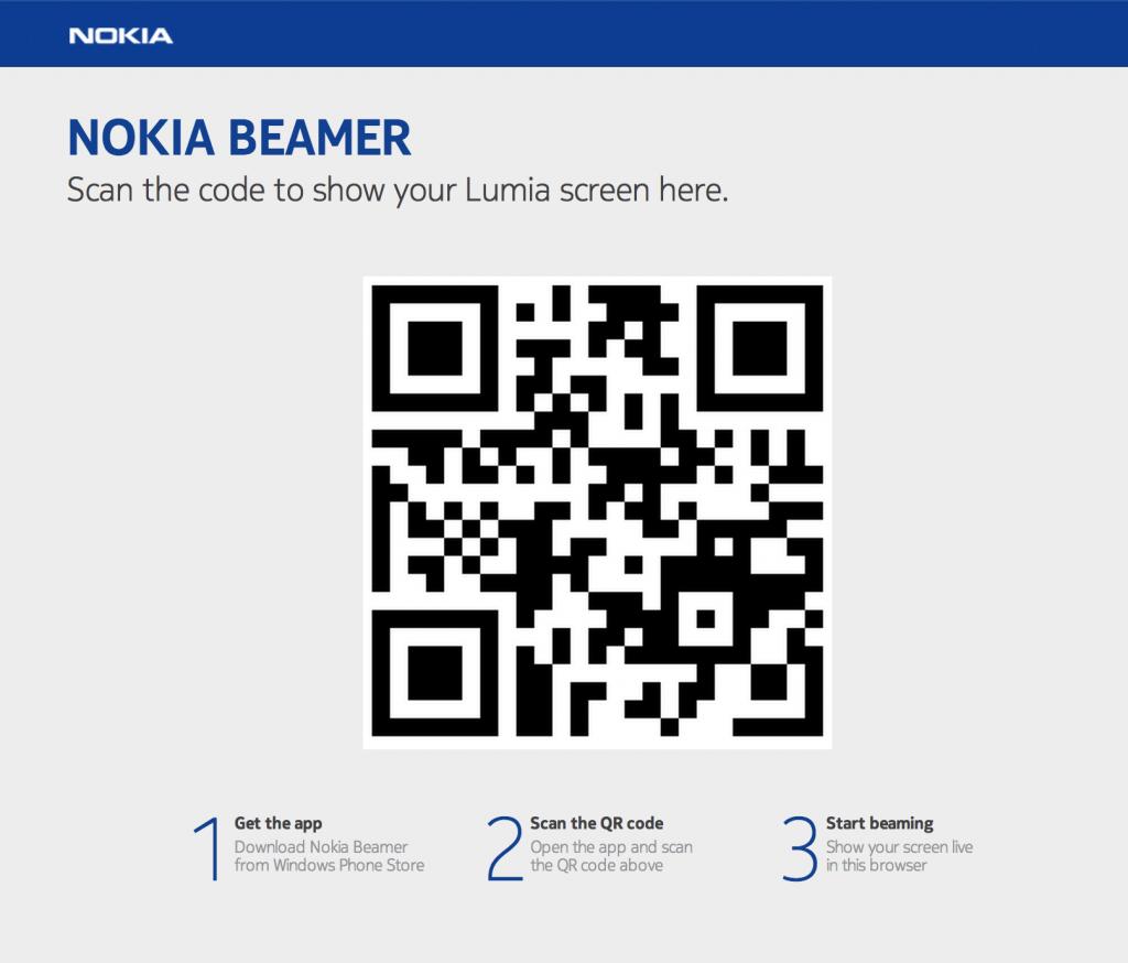 NokiaBeamerWebsite