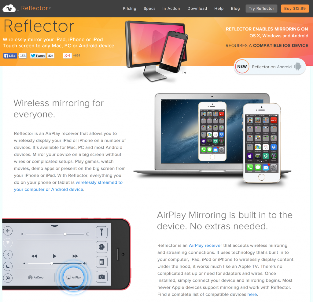 ReflectorWebsite