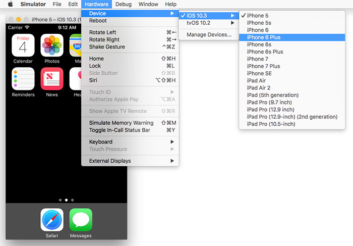 How to Launch Android Emulators and iOS Simulators From the