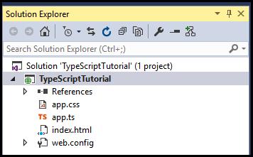 SolutionExplorerTypeScript