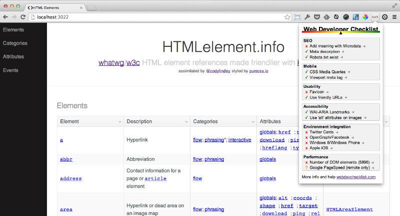 webdev_checklist