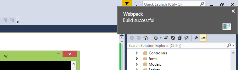webpack-successful