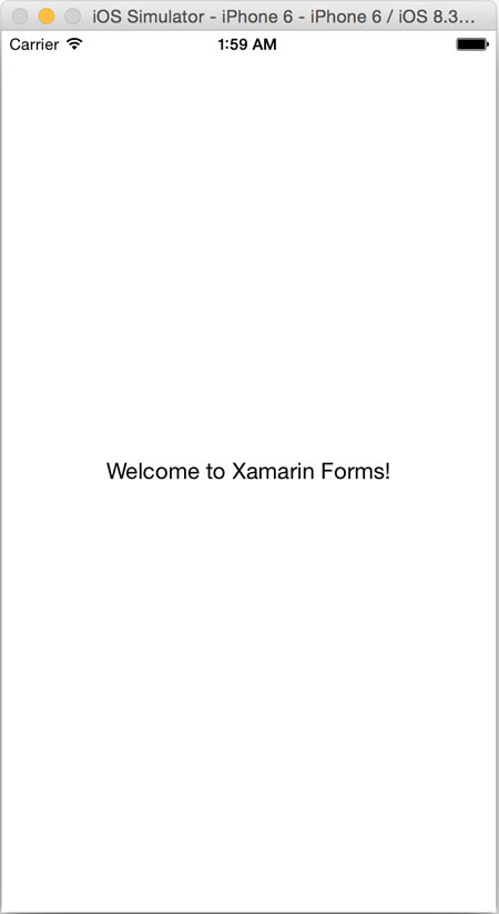Welcome To Forms iOS