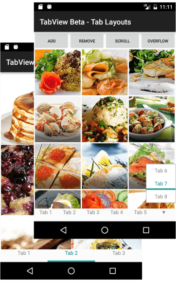 TabView - Android