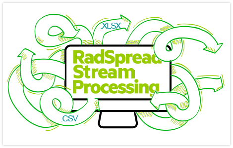 UI for WinForms RadSpreadStreamProcessing library