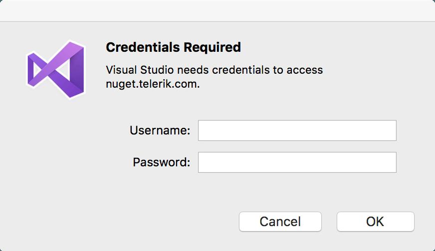 visualstudio-for-mac-credentials