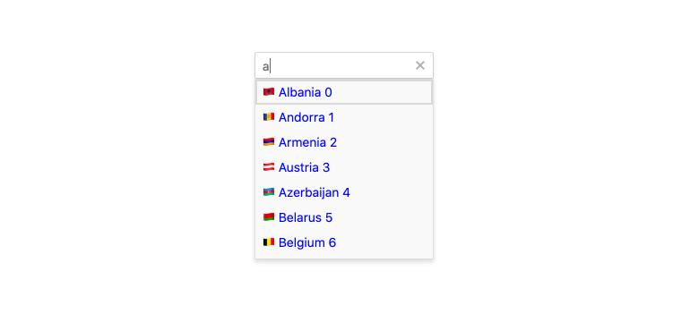 Kendo UI for Angular - AutoComplete Templates