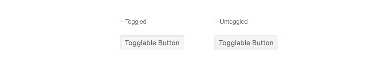 Kendo UI for Angular Button - Toggleable Button