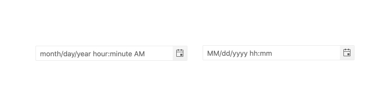 Kendo UI for Angular DateTimePicker – Placeholders
