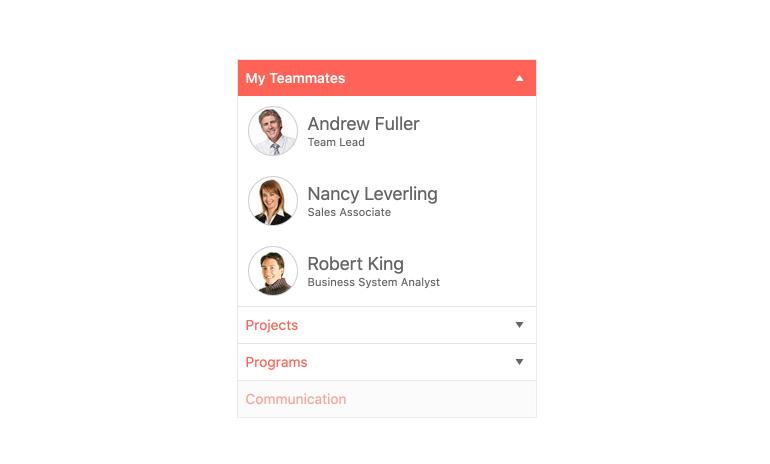 Kendo UI for Angular PanelBar - Overview