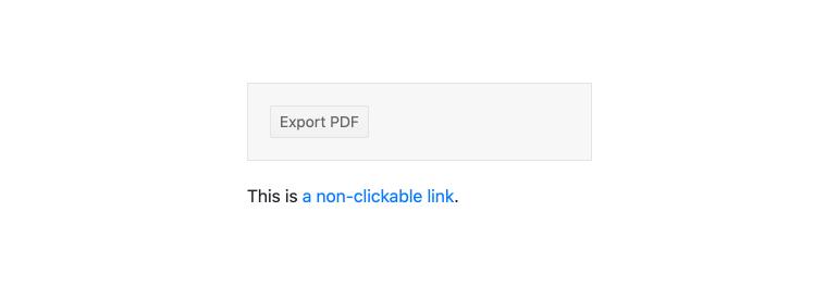 Kendo UI for Angular PDF Export - Hyperlinks
