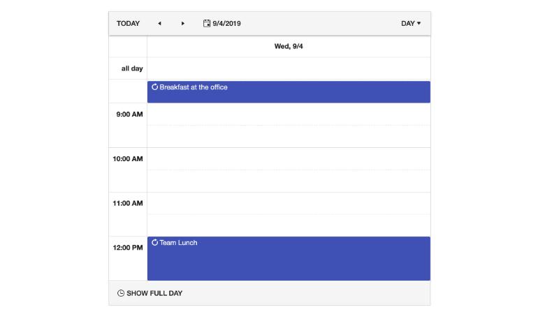 Kendo UI for Angular Scheduler - Recurrence