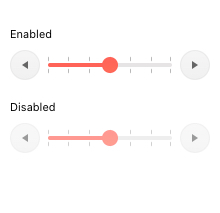 Kendo UI for Angular Slider - Disabled Slider