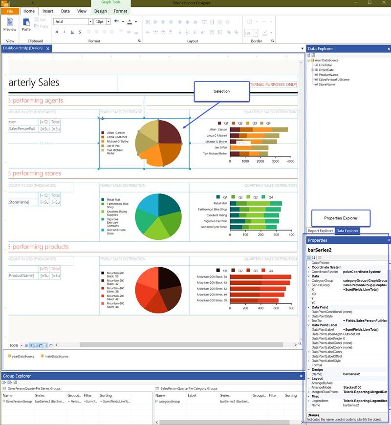 The Standalone Designer Properties Explorer UI