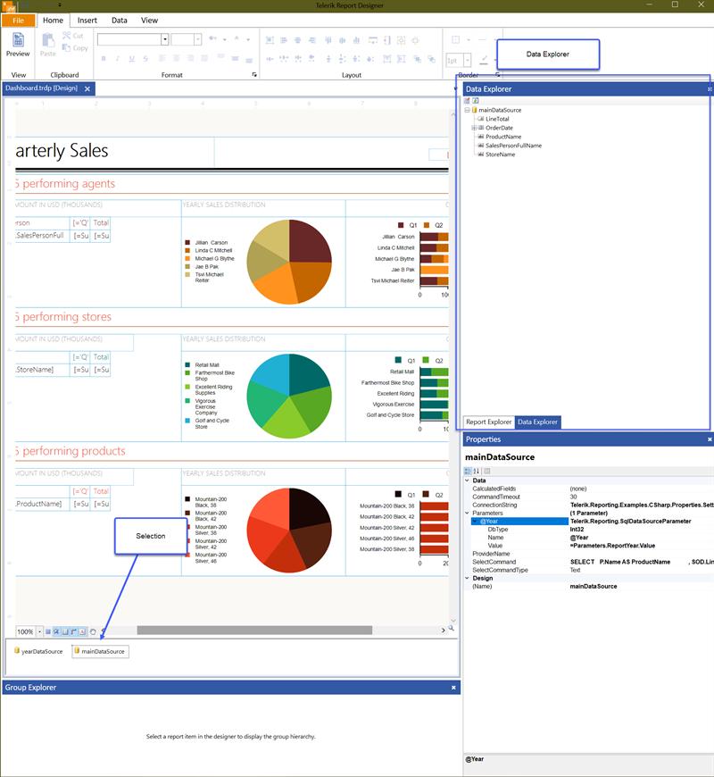The Standalone Designer Data Explorer UI