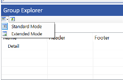 Group Explorer View Mode