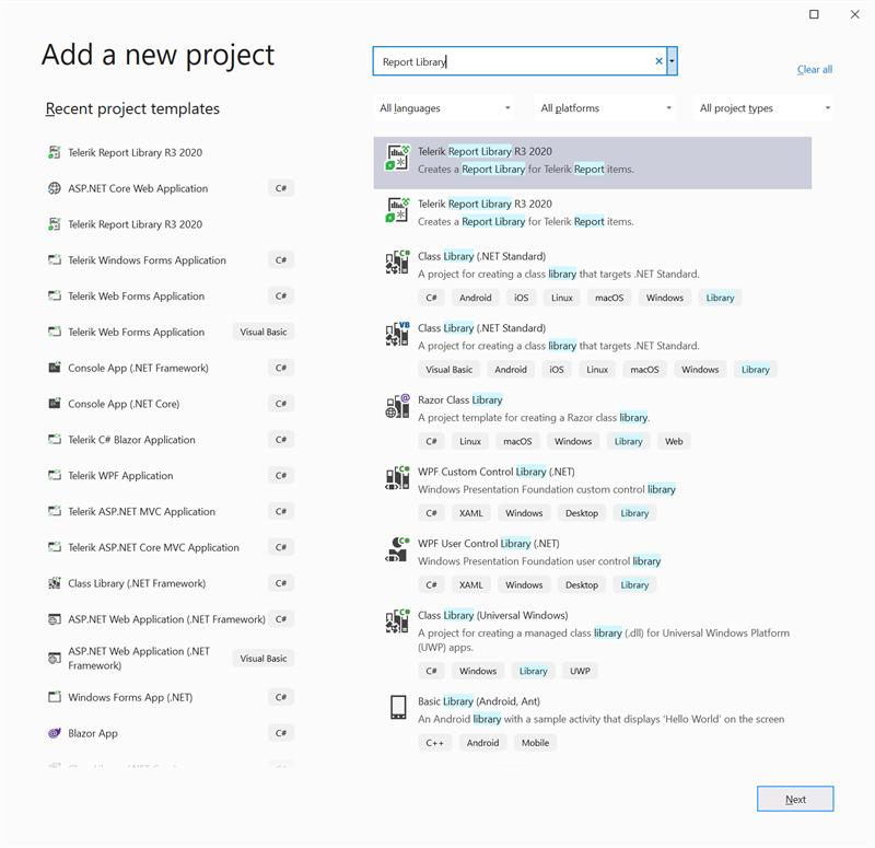 Visual Studio Designer Add New Project
