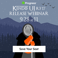 Kendo UI R3 2017 Release
