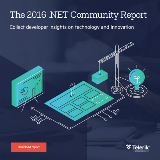 2016 .Net Community report