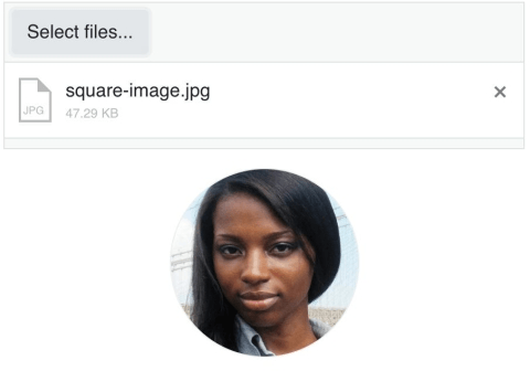 upload example