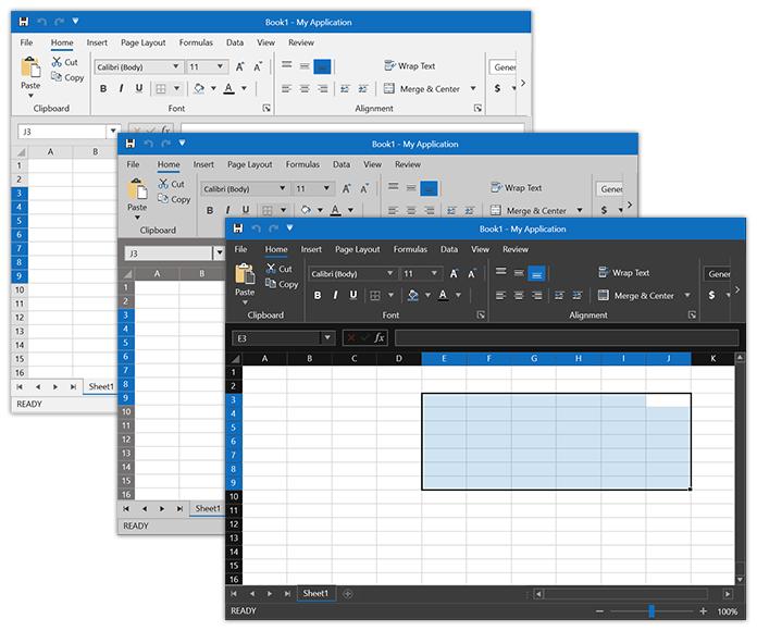 Office2019 Spreadsheet Variations