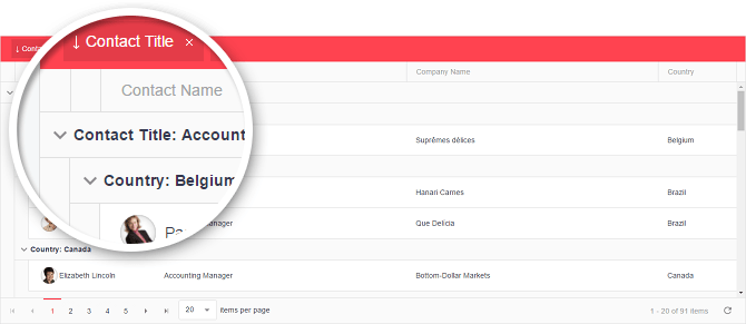 Ready-to-Use Grid UI for AngularJS Applications