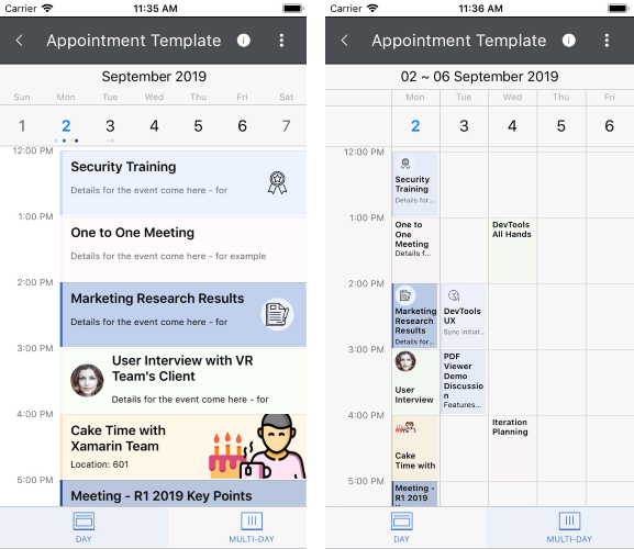 Appointment Template
