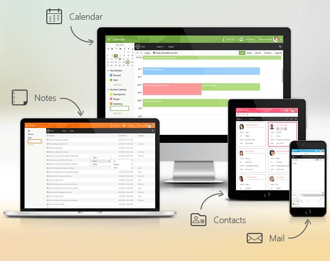 Telerik Outlook-inspired Sample App