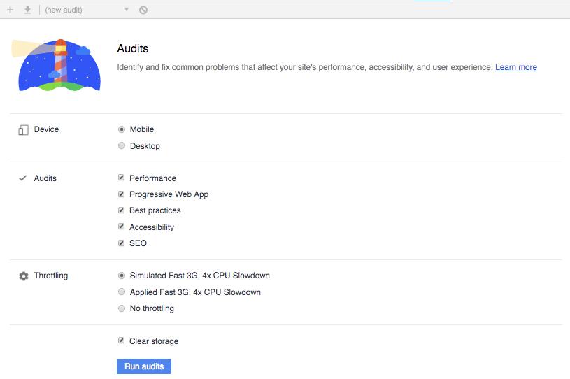 Audits tab