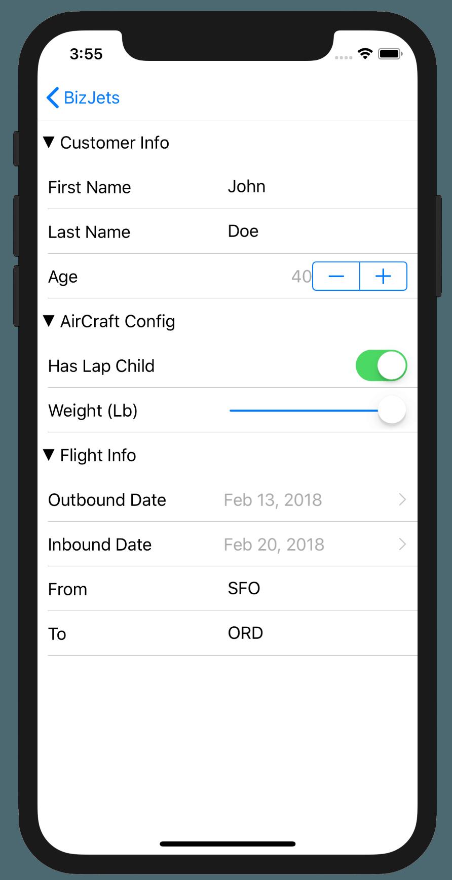 AviationDataForm