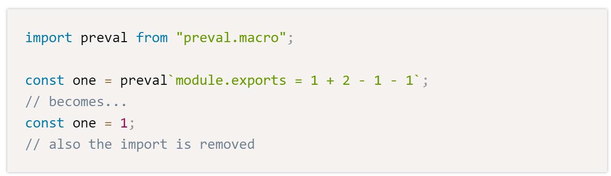 Babel-plugin-macros