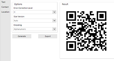 Telerik UI for WinForms - BarCode Control Image