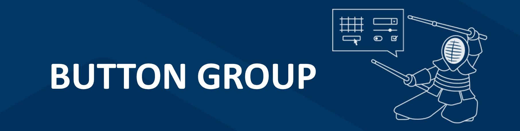 Kendo UI Button Group