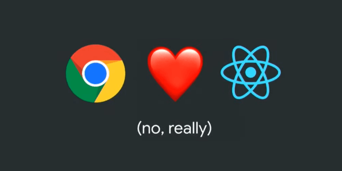 Google Chrome Loves React JS