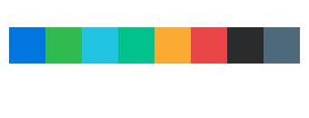 Telerik UI for Blazor ColorPalette - Custom Palette
