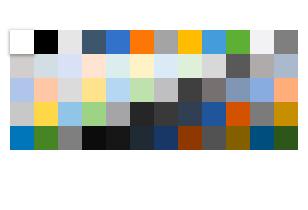 Telerik UI for Blazor ColorPalette - Custom Layout