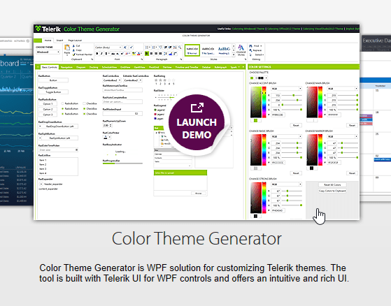Color Theme Generator for WPF