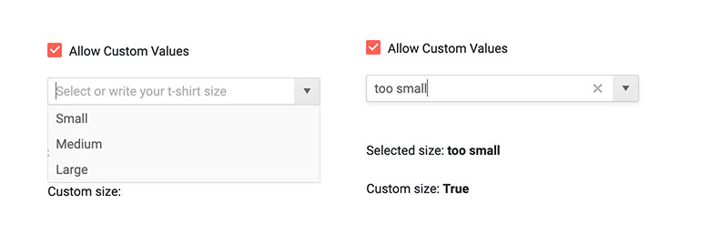 Telerik UI for Blazor ComboBox Custom Values