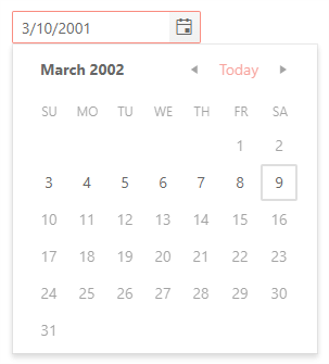 DatePicker - Date Limits