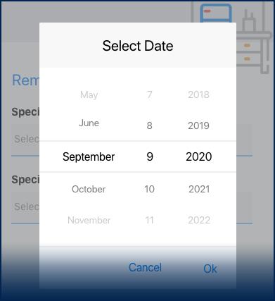 DatePicker
